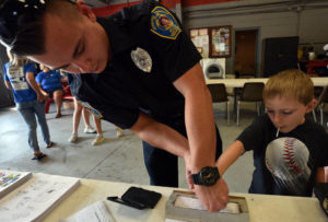 Jenkins Twp. event gives youngsters opportunity to meet emergency personnel