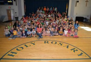 """Holy Rosary School in Duryea holds """"T-shirts for Texas"""" day to benefit Hurricane Harvey victims"""