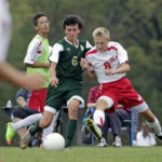 Orlando lifts Warriors over Patriots in overtime boys soccer game