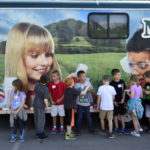 Wyoming Area Primary Center students participate in mobile agricultural science lab